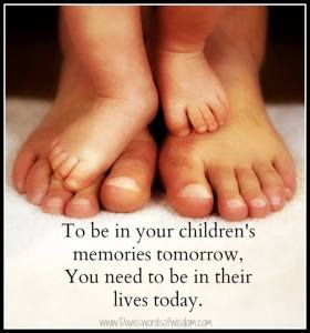 Be in childrens lives