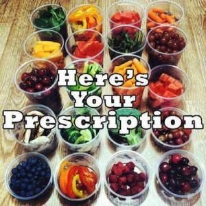 food as prescription